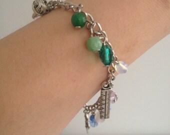 acrostic bracelet - memento mori