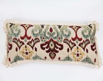 Medallion Print Decorative Throw Pillow