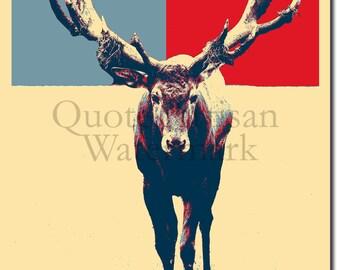Deer Original Art Print - Photo Poster Gift