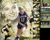 Custom Lacrosse Sports Po...