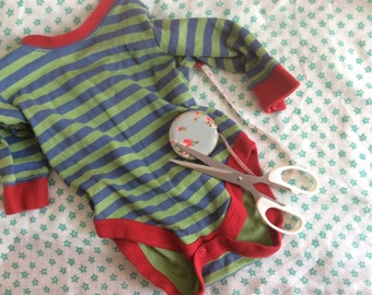 Baby Memories - capturing a favourite baby outfit in a picture, not keeping it in a drawer