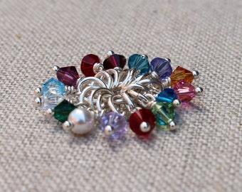 Swarovski crystal birthstone add ons