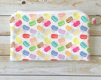 Mini Macarons Zipper Coin Purse Zipper Coin Pouch Keychain Wallet Phone Pouch, Jewelry Pouch, Zipper Pouch, Keychain Wallet, Money Pouch.