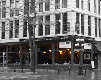 Water St. Cafe photograph Gastown, Vancouver Canada
