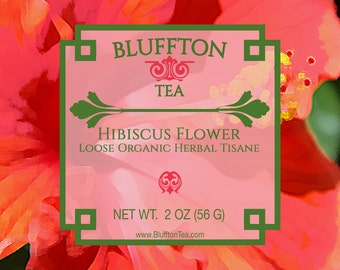 Hibiscus Flower Herbal Tisane