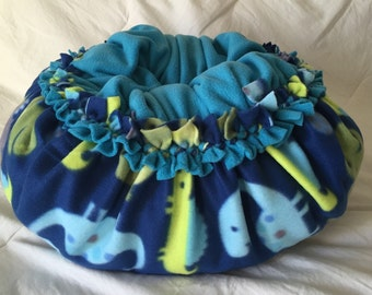Fleece pet bed, Pet pillow, suggle bed, dog bed, cat bed, Dino