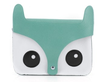 Turquoise Kawaii Cute Fox Bag