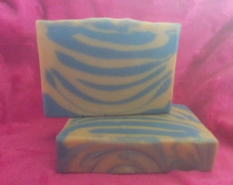 Rockstar by lush type cold process soap vegan