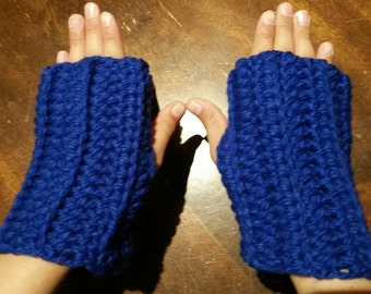 Handmade and Made to Order Short Wristwarmer for Adults/ Children