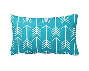 Blue Throw Pillow Cover Teal Blue Pillow Covers Tribal Pillows Tribal Decor Decorative Pillows for Couch Lumbar Pillow 12x20 12x18 12x24