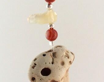 hag stone,holey stone,talisman,protection,geekery,stone with holes,amulet,stone,magical,mystical,semi precious gemstones