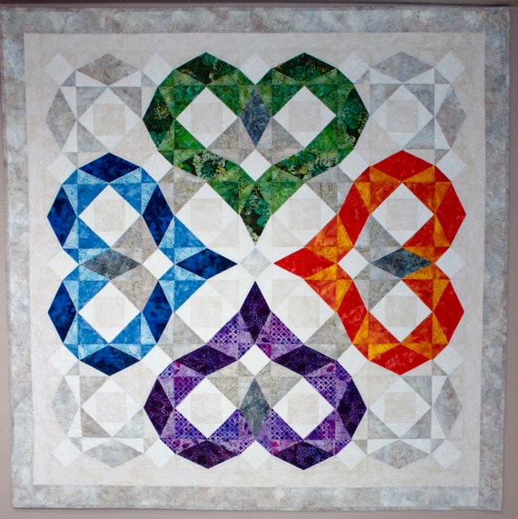 storm at sea quilt template - storm at sea quilt pattern wedding heart love quilt