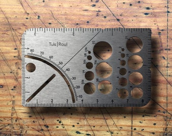 Tuls | Roul Titanium - credit card sized compact pocket multi tool