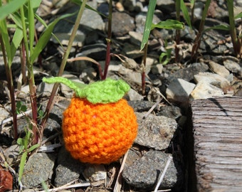 Clementine amigurumi plush