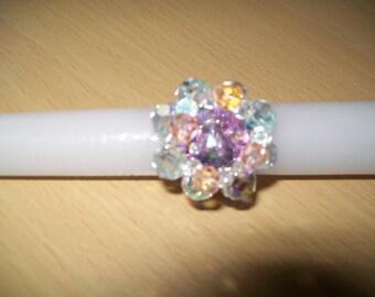 swarovski Pearl ring