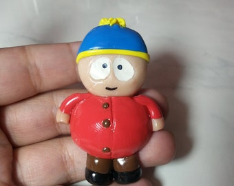 South park, south park character,  Kyle south park,  ID badge, badge holder, handmade badge holder, polymer clay, nurse