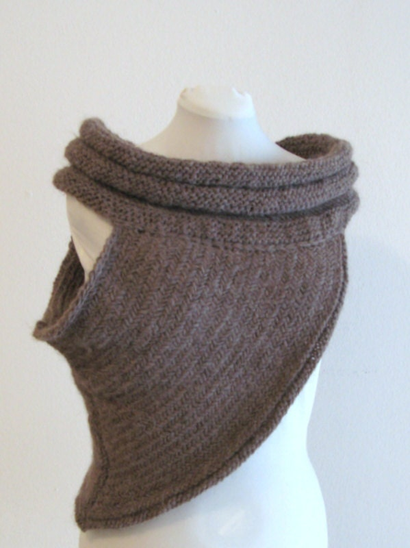 PDF knitting pattern Katniss cowl inspired size S