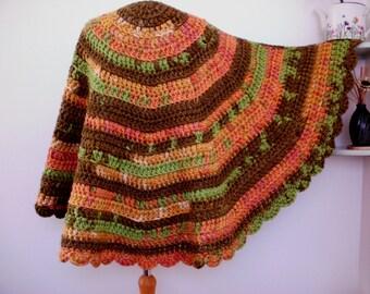 Semi circular shawl ? Etsy