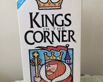 Vintage The Kings In The Corner Family Card Game