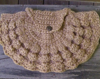 Clutch Purse - Crochet Jute