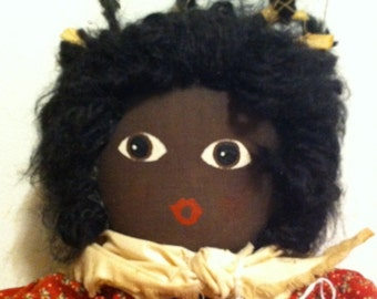 Vintage Black Americana Doll