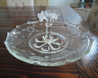 Vintage Paden City Dessert Platter