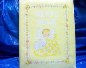 Vintage Baby Book  by Dolli Tingle Our Babys First Seven Years 1973 CR Gibson
