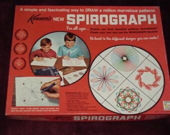 Vintage 1968 Kenner SPIROGRAPH Drawing Kit - Original