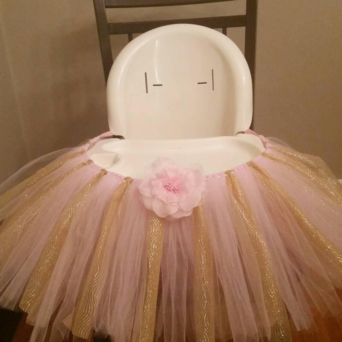 highchair tutu skirt tutu skirt chair skirt birthday