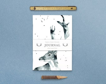 Nature Series Mr. Antlers Journal with Belly Band