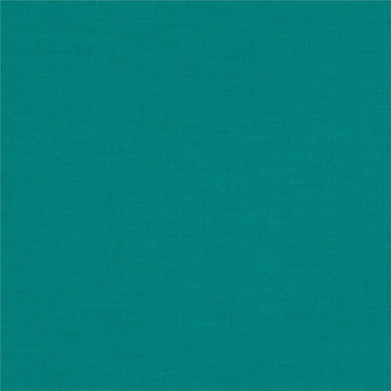 Kona Cotton Jade Green by Robert Kaufman, K001-1183 ...