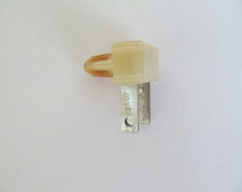 Vintage Wall Plug Night Light -  Quarter Size - Retro  Night Plug