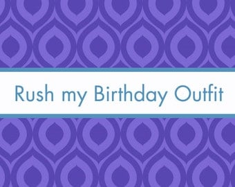Rush Listing - 5 - for First Birthday Outfits