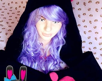 NEKO FLEECE SCOODIE kawaii
