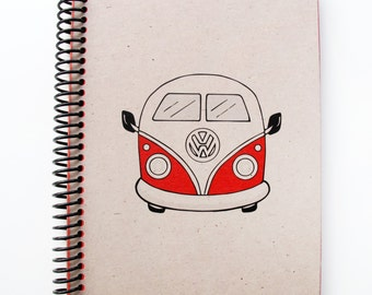 Vw Campervan Series Spiral Notebook 3