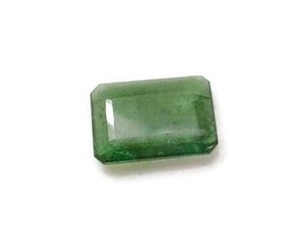 Natural 3.35 ct Emerald Octagon Shape EM-114 Loose Gemstone  Birthstone