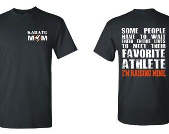 Karate Mom Tshirt Karate Shirt Karate Kid Karate Girl Karate Gift Karate Birthday Karate Belt Karate Clipart Martial Arts Karate Fabric 1850