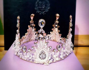 Princess Crown for Bridal Wedding Party Birthday Gifts