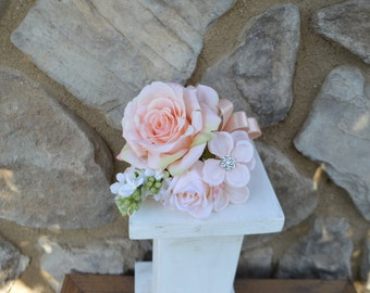 Wedding Corsages, Bridal Corsages, Mother In Laws Corsage, Silk Flower Corsage,Silk Wedding Corsage