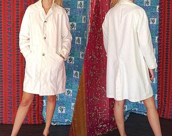 Vintage 70s Misty Harbor Ivory Jacket Med