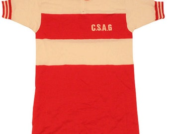 70's vintage deadstock Castelli cycle jersey made in Italy