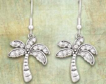 Palm Tree Earrings - 50571
