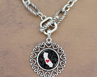 California Heartland Toggle Necklace - 57601CA