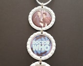 Doctor Who Bottle Cap Christmas Tree Ornament