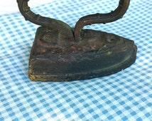 Vintage cast iron stop
