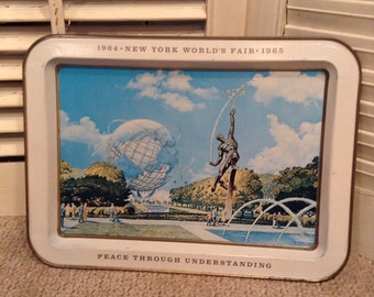 1964-1965 New York World's Fair Tray