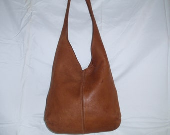 Em Are Leather by Wendy Deerskin Leather Hobo Handbag