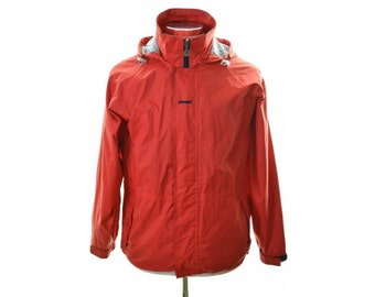 K-Way Mens Windbreaker Jacket Small Red