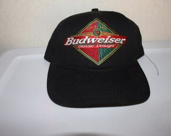 Vintage 90's Busweiser Classic Draught Strapback Hat by Anheuser Busch