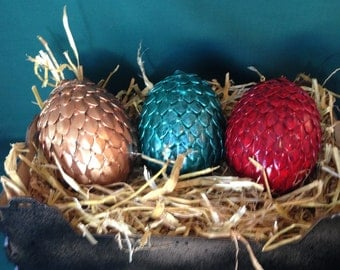 Individual Dragon Egg, Mythical Metal Scales